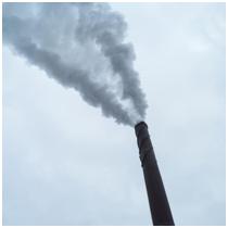 smoke stack releasing PAHs