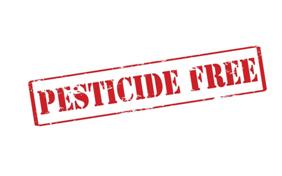 Pesticide Free sign